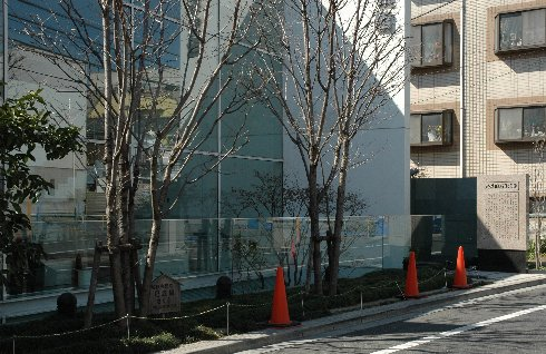夏目漱石住居跡