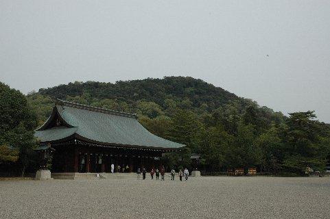 橿原神宮から見た畝傍山