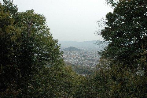 畝傍山から見た耳成山