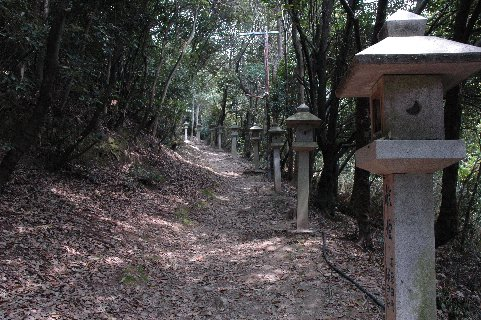 山口神社参道