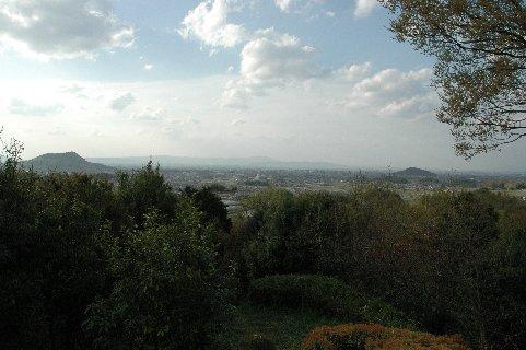 甘樫丘から大和三山