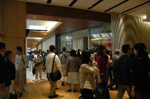 サントリー美術館入口