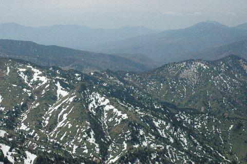 横手山山頂からの眺望
