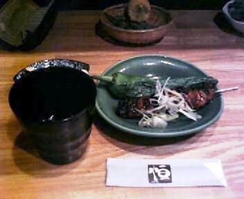 焼いて美味しい、万願寺唐辛子と豚ばら串
