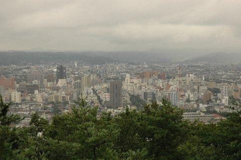 信夫山展望台
