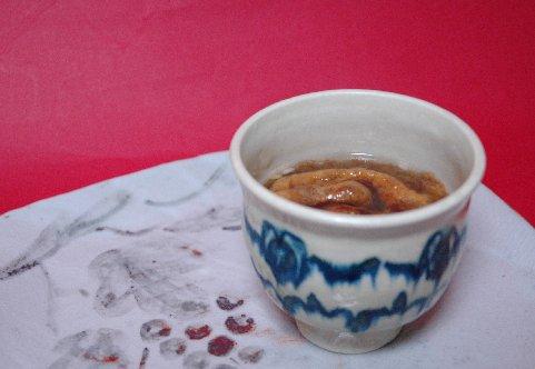 しるこin安南風茶碗