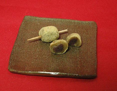 笹串だんご