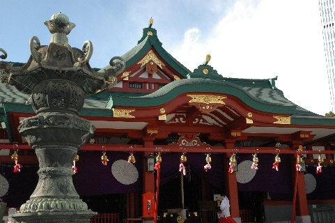 山王日枝神社・社殿