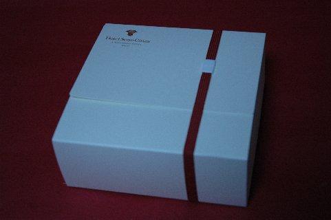 銀座マカロンの箱