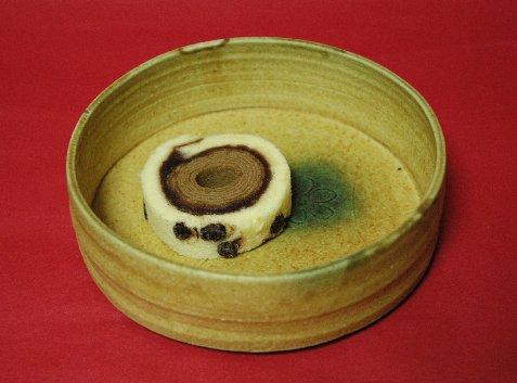 和バウムin黄瀬戸鉢