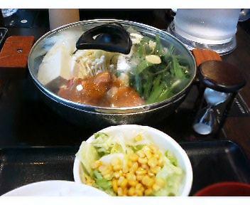 若鶏と野菜の鍋