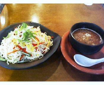 漬け麺・秋刀魚鶏白湯