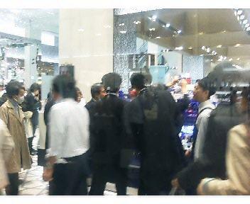 大丸東京店の混み具合