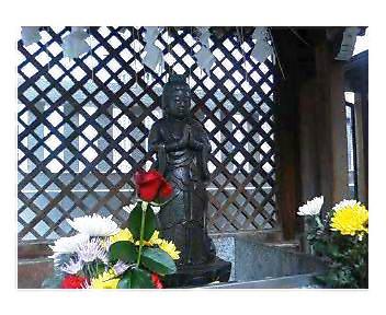 善國寺境内の浄行菩薩