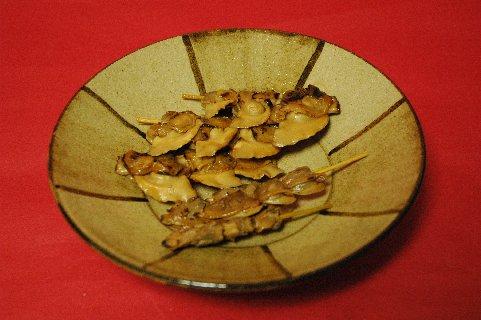 焼き蛤&あさりon鉄絵皿