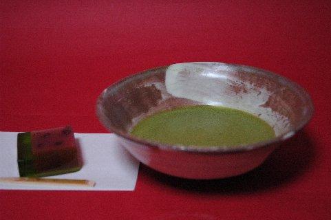 刷毛目茶碗&西瓜