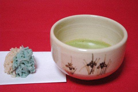 古清水風茶碗