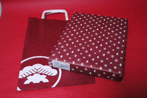 松崎煎餅・袋と包装