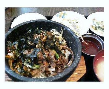 プルコギ石焼ビビンバ定食