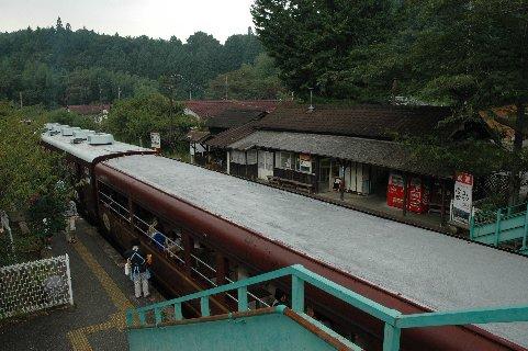 神戸駅の物売り