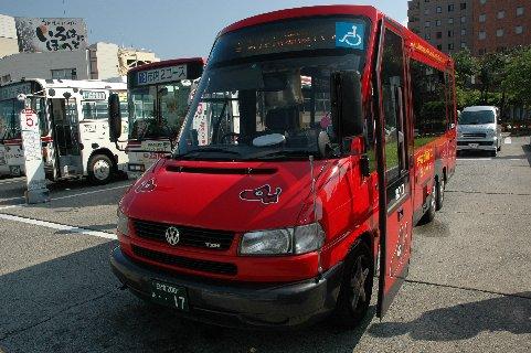 会津若松駅から鶴ケ城への当初予定循環バス