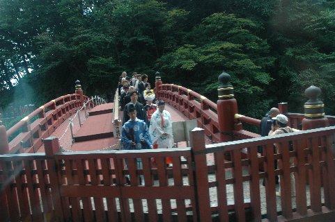 神橋の花嫁