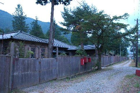 鉱山社宅跡