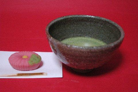 朝日焼風茶碗