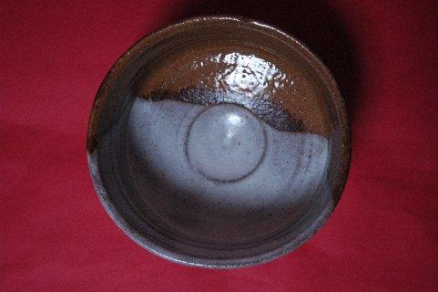 高取焼写し茶碗・見込み