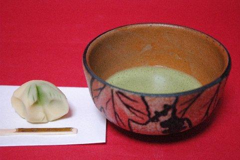 布目山葡萄茶碗写し