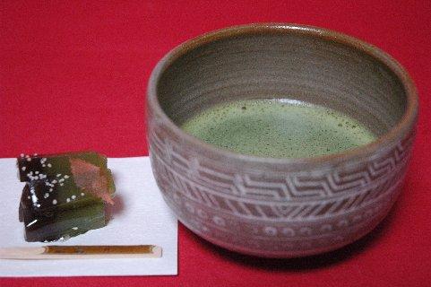 三島桶茶碗