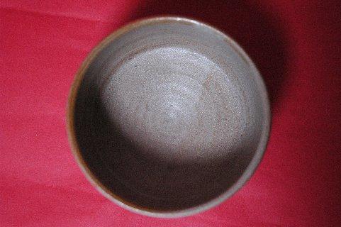 三島桶茶碗・見込み