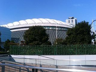 ドームホテル側から観た東京ドーム