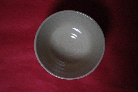 木米染付金城製銘茶碗写し・見込み