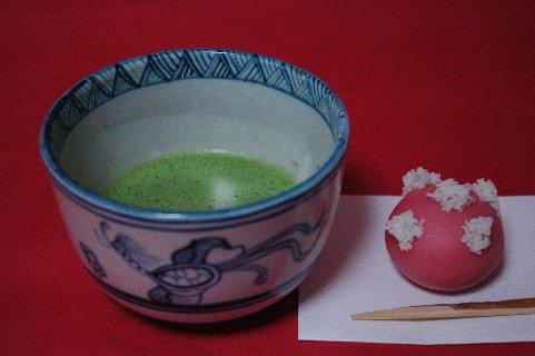 古曾部安南写し茶碗