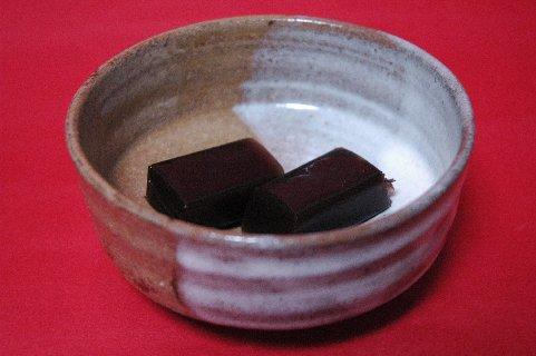 黒豆茶羊羹in高取風鉢
