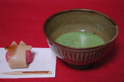 柳原焼三島写茶碗の写し
