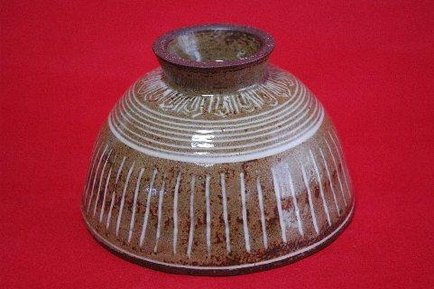 柳原焼三島写茶碗の写し・高台