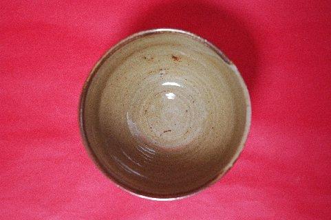 柳原焼三島写茶碗の写し・見込み