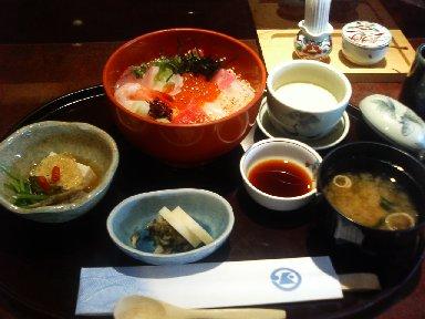 加賀屋海鮮丼