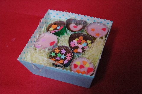5歳の孫の手作りチョコ