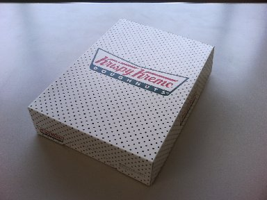 Krispy Kreme Doughnutsの箱