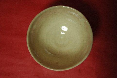 古京焼わらびの絵茶碗写し・見込み