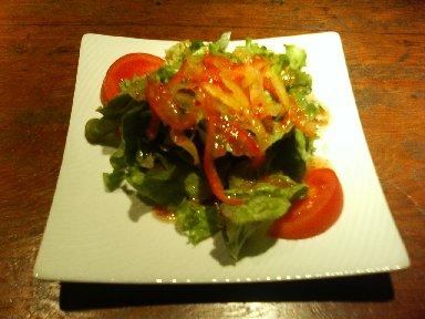 いろいろ野菜のサラダ