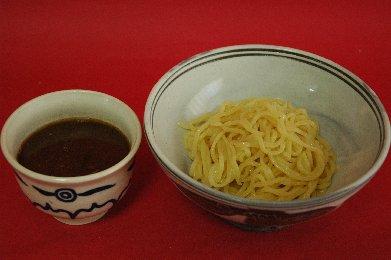漬け汁と麺