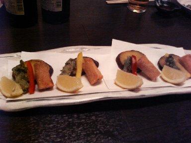 ・海老芋とパンロール揚げ
