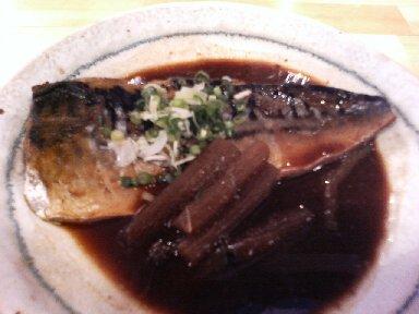 鯖味噌煮アップ