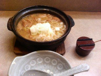 もつ煮込み豆腐鍋