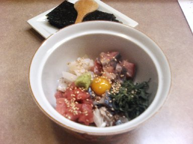 大花火(海鮮納豆)