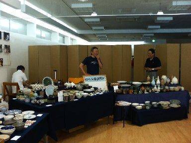 稲毛陶芸教室の展示場所